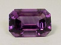 Natural color EC Amethyst