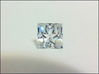 Square/princess Lone Star Cut topaz