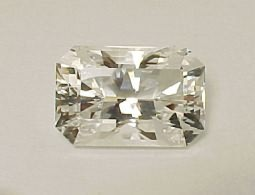 White Quartz Emerald Cut 80.35 ct
